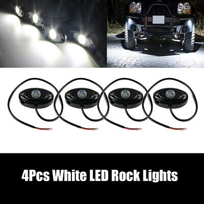 Fits Ford F150 Bright White Underbody Rock LED Light Accent Under F250 F350 F450