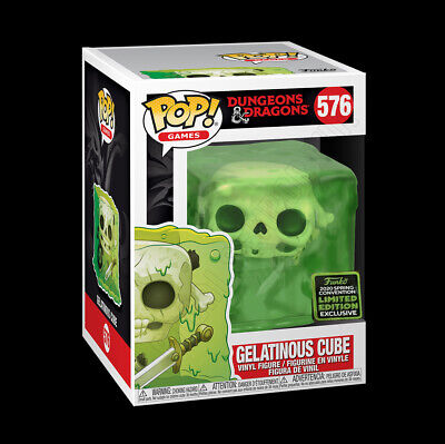 Funko Pop Dungeons & Dragons GELATINOUS CUBE ECCC Shared Exclusive 576 PREORDER