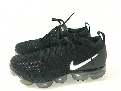 Nike Air Vapormax Flyknit2 Black Mens 942842-001-size 10