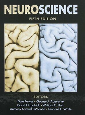 NEUROSCIENCE, FIFTH EDITION WITH NEURONS IN ACTION 2 By Dale Purves - VG