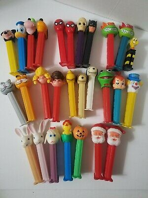 PEZ Candy Trolls Pez Dispensers - Pack of 28
