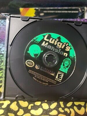 Luigi's Mansion (Nintendo GameCube) Disc Only Good Condition Tested works great