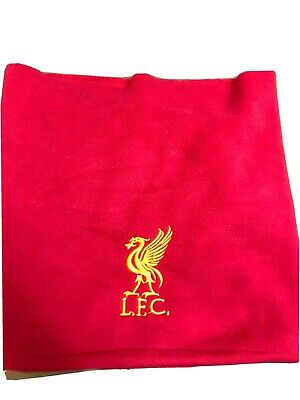Liverpool  Embroidered Thermal Fleece Beanie Hat Snood Scarf Neck Warmer