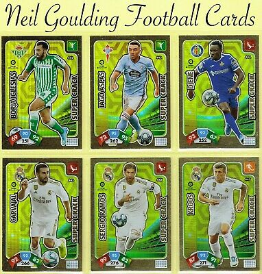 Panini ADRENALYN XL [SPAIN] 2019-2020 ☆ Super Crack/Balon De Oro ☆ #433 to #463