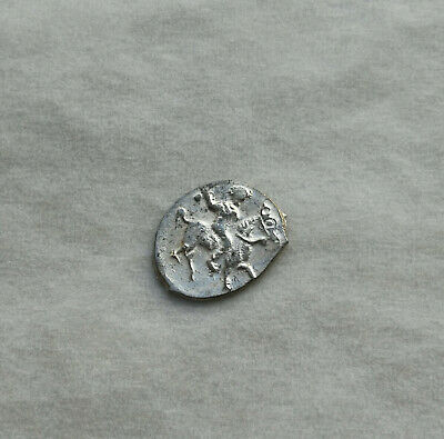 Medieval silver coin Ancient Vikings of Kievan Rus