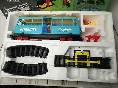 Classic Vintage Rare Faller Play Train Intercity Set Complete & Working, 3614