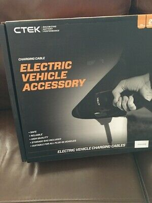 NEW! CTEK EV CHARGE CABLE Type 1 Mode 3 - 1, Electric Vehicle charging cable.