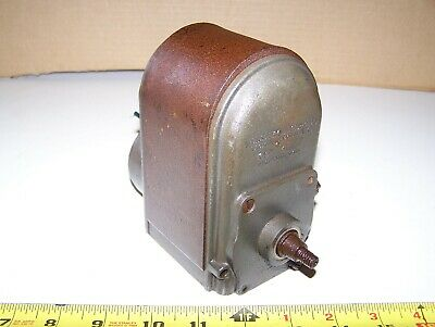Old WEBSTER HJ High Tension Hit Miss Gas Engine Magneto Steam Tractor Mag Oiler