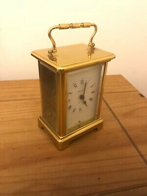 vintage duverdrey & bloquel skeleton carriage clock