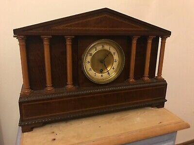 Antique Hac large mantle clock fully working