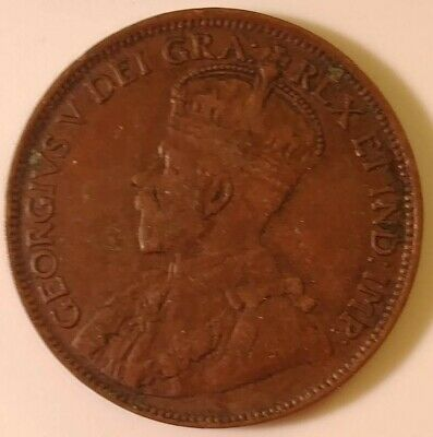1918 Canada Large Cent
