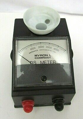 Myron L Company Single Range Conductivity DS Meter 0-5000 PPM Model 512 M5