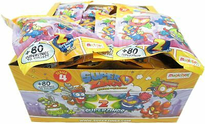 Superzings Series 4 Box Complete 30 Sachets 2 Characters Original Rivals Kaboom
