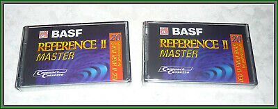 BASF Germany Reference II Master Sealed Cassette Tape IEC High Bias II 20