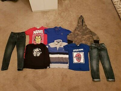 Boys Age 4 Next Bundle Of Clothes plus luke polo jeans tshirts