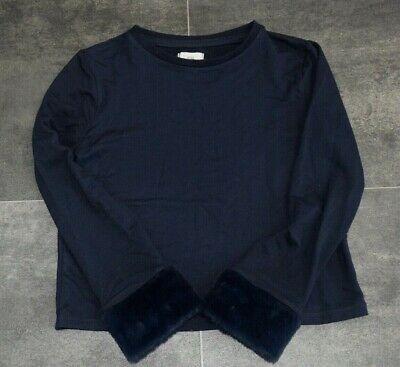 Fab Girls River Island Navy Jumper Aged 9-10 Years - In Good Condition