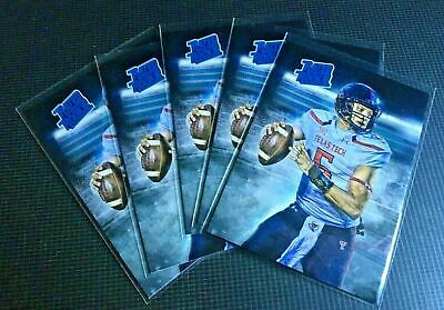5 Lot 2016 Patrick Mahomes II KC Chiefs Rated Rookie Texas Tech Card RC ACEO