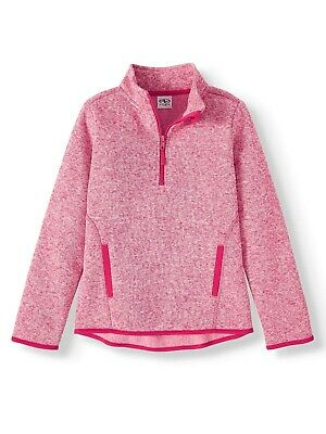 Girls Athletic Works Pink Fleece Pull-Over (Size 2XL / 18) BRAND NEW W TAGS