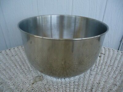 Genuine Sunbeam Oster Large Stainless Steel Mixing Bowl 2377 2381 2384