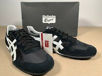 New Onitsuka Tiger Serrano D109L Black W/ White Men's 11.5 Women's 13 Euro 46