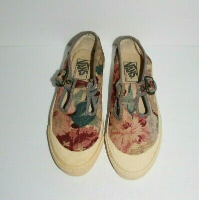 Vans Rare Made in USA Women size 7.5 Floral