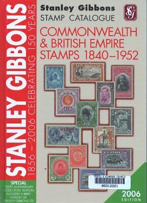 STANLEY GIBBONS STAMP CATALOGUE COMMONWEALTH AND BRITISH - Hardcover **Mint**