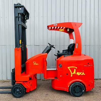 FLEXI G4AC, 2000Kg. USED ARTICULATED ELECTRIC FORKLIFT TRUCK. (#2766)