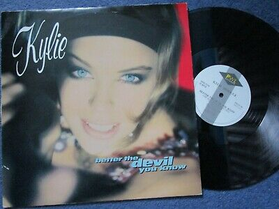 Kylie Minogue – Better The Devil You Know PWL Records 12 inch Vinyl Single