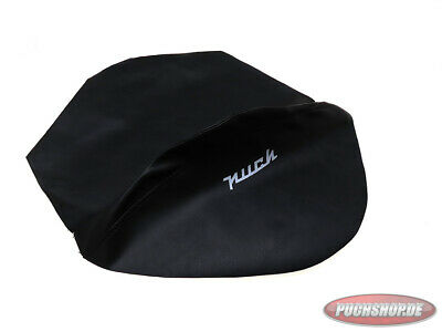 Buddyseat Cover Puch VZ50 bis 1972 Schwarz Mofa Moped