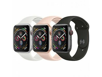 Apple Watch Series 4 (40MM / 44MM) Space Gray Silver Rose Gold GPS+LTE Cellular
