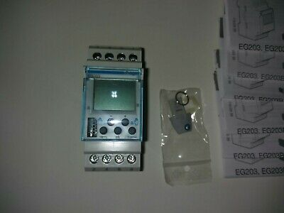 Hager EG203 16a Digital Weekly Programmer Time Switch 227203 !!