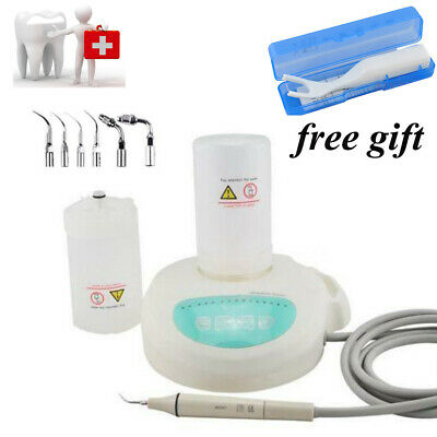 Dental Ultrasonic Scaler Piezo scaling W Handpiece TIPS fit EMS W LED light Bid