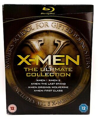 • X-Men • The Ultimate Collection • Blu-ray • 5 Films • First Class • Wolverine