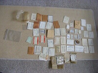 Massive Amount Old/New Stock Vintage Watch Hands Luminous, Ornate Military Etc