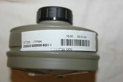 NEW Sealed Genuine Military Premium Israeli NATO NBC 40mm Gas Mask Filter SHTF