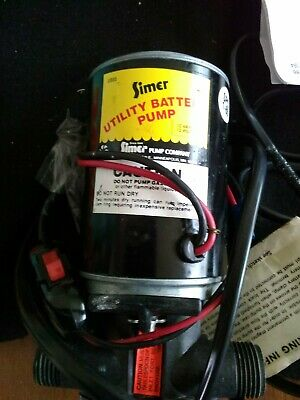 SIMER Portable Utility Pump Wet Basements Farmers Boaters Growers Moonshiners