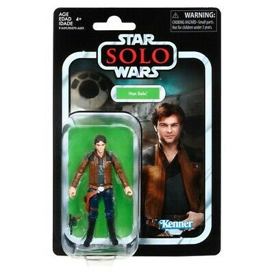 New!! Star Wars Vintage Collection Solo A Star Wars Story VC124 Han Solo