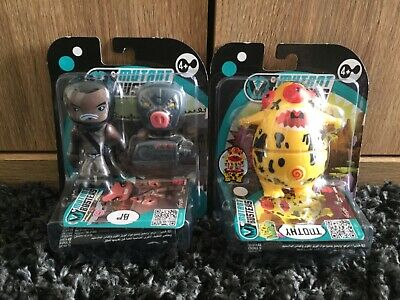 MUTANT COPTER SHERIFF /& HELICOPTER ACTION FIGURE SET MUTANT BUSTERS