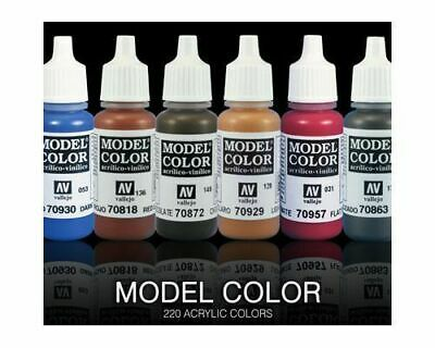 Vallejo Model Color & Liquid Gold Acrylic Paint 17 ML - Many to Choose From!