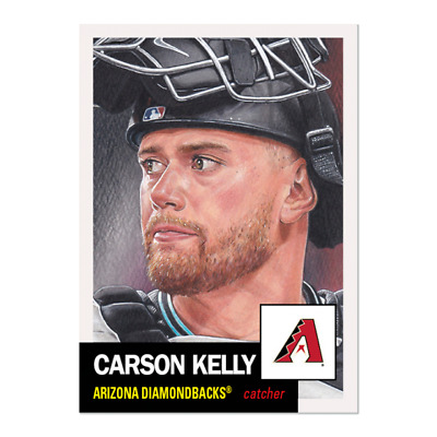 Topps Living Set Card #290 Carson Kelly Pre-Sell