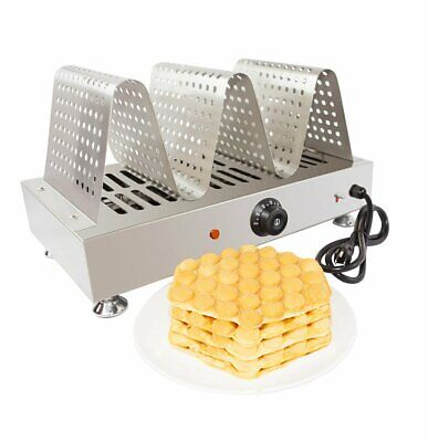 Bubble Waffle Warmer | Manual Control | Stainless Steel