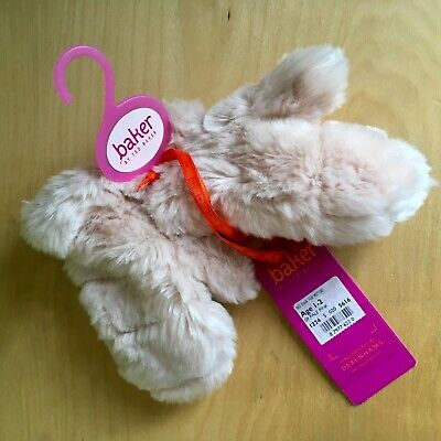 BAKER BY TED BAKER Pink (girls') fluffy mittens age 1-2 - BRAND NEW WITH TAGS