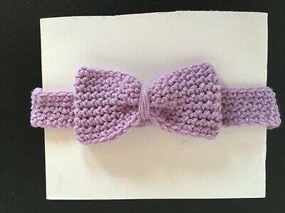 🌸Baby Girls Crochet Headband 0-3 Months 🌸