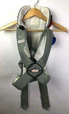 Baby Bjorn Baby Infant Carrier Mesh One Air White/Grey 8-22 lbs Unisex Sling