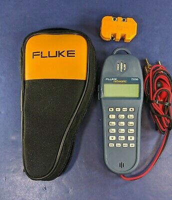 Fluke Networks TS25D, Excellent, Soft Case