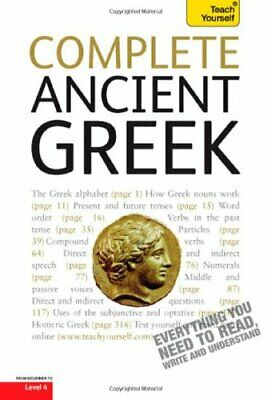 COMPLETE ANCIENT GREEK: A TEACH YOURSELF GUIDE (TEACH By Alan Henry