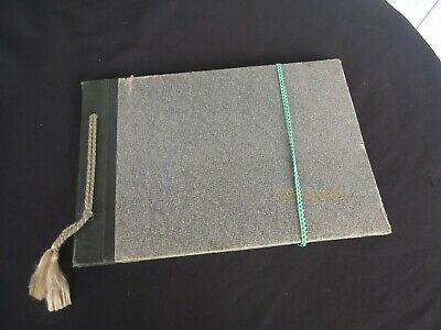 vintage antique photo album