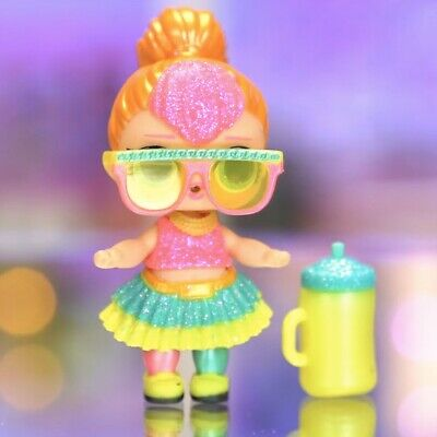 LOL Surprise Doll GLAM GLITTER NEON QT Technicolor Sparkle Big Sister Cutie Q.T.