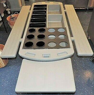 Carlisle Maximizer Commercial Ice Bed/Bath Cold Food Salad Bar