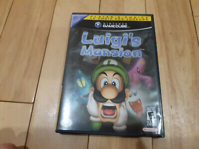 Luigi's Mansion (Nintendo GameCube, 2001) With Case TESTED - complete!! ~ PC